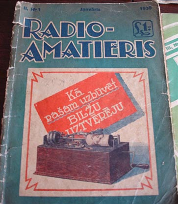 Журнал «Radio-amatieris» № 1-1930