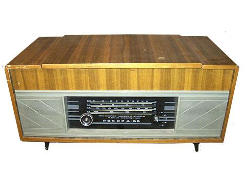Принципиальная схема радиоприёмника рекорд 66